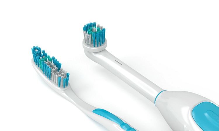 Electric or Manual toothbrush